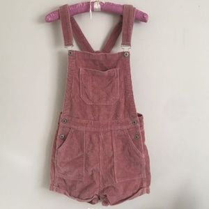 OFFERS RARE BRANDY MELVILLE PINK CORDUROY OVERALLS